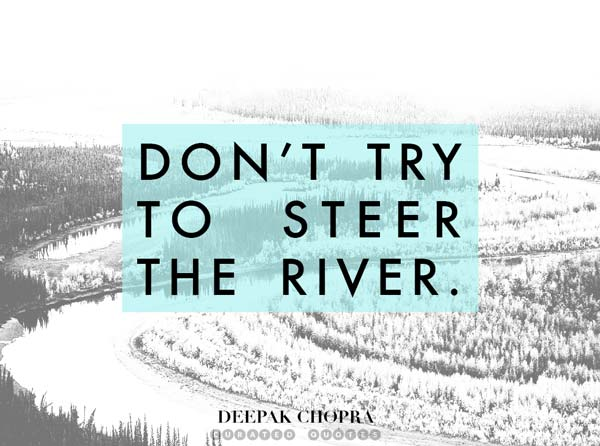 Don't Steer The River